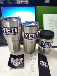 Wholesale 12oz oz oz YETI Rambler Colster Vacuum Insulated Tumbler Yeti Mugs Insulated Stainless Steel yeti Car Beer Cup Free FEDEX