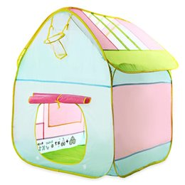 Wholesale Colorful Beautiful Kids Beach PlayHouse Indoor Outdoor Multi Function Foldable Water Resistant Portable Camping Non toxic Tents