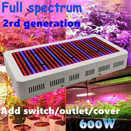 Wholesale 3 years warranty High Quality W Full Spectrum LED Grow Light Red Blue White UV IR AC85 V SMD5730 Led Plant Lamps Be