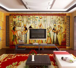 Vintage Photo Wallpaper 3D Egyptian Wall Murals Custom Wallpaper for walls 3D painting Bedroom Office Sofa TV backdrop Art Living Room decor