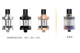 Wholesale 100 Authentic Aspire nautilus X Atomizer ml Capacity Top Refilling with U Tech Coil System VS Aspire Cleito RTA Tank vaporizer