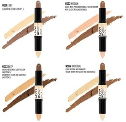 Wholesale Newest Wonder stick highlights and contours shade stick Light Medium Deep Universal Pick up mixed available NYX concealer ship by DHL