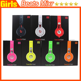 Wholesale Used Beats Mixr Headphones Wired Beats Mixr Headsets Colorful Contact Me For Beatsstudio Beats Pro Beats Solo2 Powerbeats FAST shipping