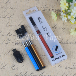 Dab Pen Mini CE3 Blister Kit eGo 510 battery O-Pen Bud Touch Vape Pens Oil Herbal Vaporizer China Direct 2PCS By ePacket A