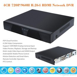 4CH 720P 960H 1 4 Screen HDMI Network DVR Surveilance DVR Video Recorder Standalone with Remote Controller