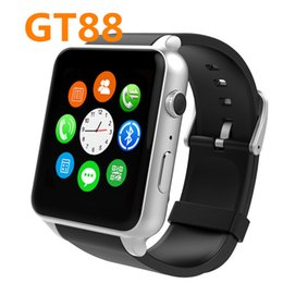 Wholesale GT88 Smart Watch Bluetooth MTK2502c Wirst Android Watches Bracelet Wristwatch Wearable Devices Electronics Gear relojes inteligentes