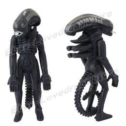 Wholesale Animation Cartoon Alien vs Predator Alien Warrior cm quot PVC Action Figure Removed Helmet New