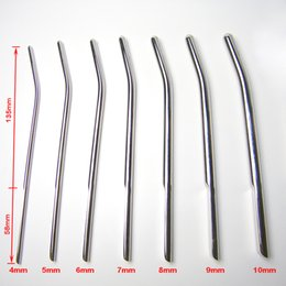 NEW Newest Male Stainless steel Urethral Sounding Stimulate Plug Urethra Stretching Chastity Device BDSM Adult Sex Toys