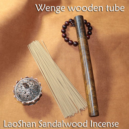 65sticks high quality Laosan sandalwood of indian incense sticks with Wenge wood box fragrance room decoration buddhist yoga club office