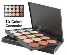 15 Color Concealer Camouflage Makeup Palette Set, 15con