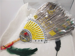 Chinese zhugeliang bagua Manufacturers selling Kong Mingshan Chinese ancient goose feather fan Zhu Geliang gossip gifts