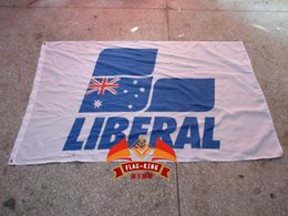 Wholesale liberal car brand logo flag flag king liberal banner X150CM size polyester