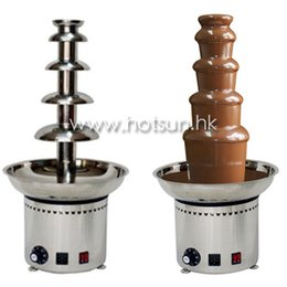 Wholesale V V Electric Tiers Party Hotel Commercial Chocolate Fountain