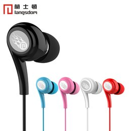 Wholesale Lanston JD91 In Ear With Microphone Android Mobile Phone Special Wire Headset Computer Universal New Listing Headphone Stereo Earphone ls
