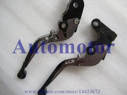 Wholesale Cnc Y - CNC Foldable Extendable brake clutch levers For SUZUKI GSX600 750 KATANA 1998-2006 1999 2000 2001 2002 2003 Y