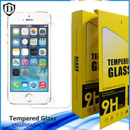 10pcs lots 0.2mm Not Full Cover Tempered Glass for iphone 6 plus Screen Protector cristal templado Film glass iphone 4 5 SE
