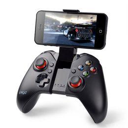 Compra Online Pc joystick-IPega PG-9037 Controlador de juegos inalámbrico Bluetooth Gamepad Joystick Game Mouse FUN. Para Android iOS Tablet PC TV Box