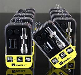 Compra Online Mejor rba-Auténtico Uwell corona sub ohm tanque mejor para Smok Xcube2 Xcube Mini DIY Uwell corona RBA tanque VS Smok TFV4 iSub Apex atomizador