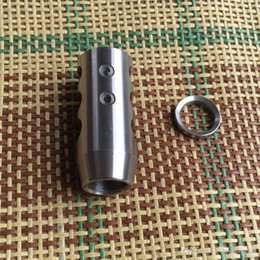 Wholesale Bokey Sports Stainless Steel x24 Thread Competition Muzzle Brake Free Stainless Washer
