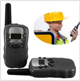 Wholesale 2 Baer T388 Children s Toys Walkie Talkie W CH Two Way Radio For Kids Children Gift Hot Selling