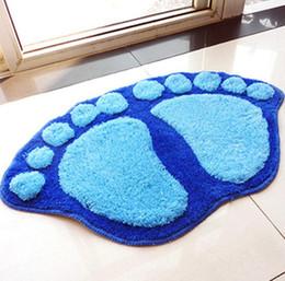 Wholesale Living room bedroom sofa coffee table carpet mattress pad bath bathroom cute big feet mat