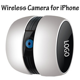 Mini cámaras wi fi en Línea-Googo 2.4GHz Mini portátil Wi-Fi inalámbrica de vigilancia de vídeo de la cámara de llamada bebé Nursery Monitorear No hay necesidad de enrutador Wireless Mini A053 Cámara