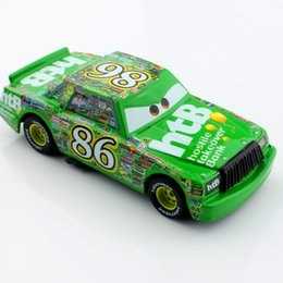 model metal toys cars prices - Hot toys kids pixar mini cars toy animation pistion No.86 htb chick alloy metal model diecast race car diecast models anime toys gifts boys