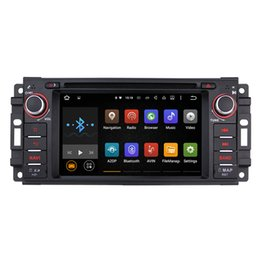 Wholesale Joyous Android Car Radio Quad Core Android Car DVD Player GPS Navigation Audio Stereo Radio For JEEP Chrysler Dodge