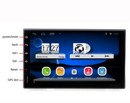 Wholesale 2 Din Android Full Touch Car DVD PC Tablet double Audio GPS Navi Car Stereo Radio No DVD mp3 Player Bluetooth iPod vw Stereo