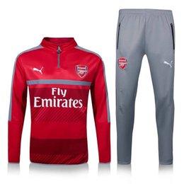 Wholesale 2016 NEW Arsenal Alexis Giroud Ozil Survetement tracksuit soccer maillot training suits maillot Sweatshirts football shirt Pants