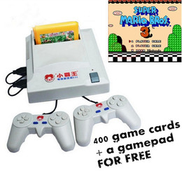 Wholesale 8 bit video game system NES classic game console Subor D31 Dual handle with light gun free in1 game card