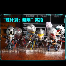 Wholesale 2016 For League of Legends Heroes union LOL source program Fiora Leona Lucian Yi Zed Yasuo Good quality LOL Collectibles IN STOC