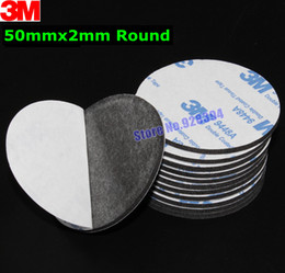 Wholesale mm Round M A Black Double Sided EVA Foam Tape Pad Mounting Tape Auto Car Decorative Article Wall Pendant Home Use