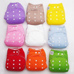 Wholesale New pattern eco friendly heavy wetter night Microfleece Bamboo Charcoal baby cloth diapers reusable with double gussets washable nappy