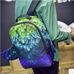 20wholesale 16 new fashion tide brand backpack women men backpacks school bags student lover bags Sport Outdoor Packs free shipping