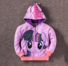 free shipping Kids Clothing baby girl clothes Long sleeve Sweatshirt with Hood for 2-8 years