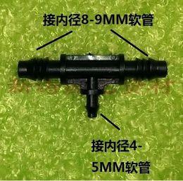 Wholesale 8mm pipe three through different diameter three through capillary joint micro spray irrigation atomization equipment parts