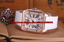 Luxury fashion business honor precision imported quartz waterproof diamond Rome scale rose gold case beautiful ladies watch belt