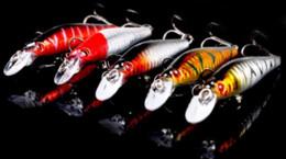 Счастливчики приманок Онлайн-Дешевые 5 шт гольян рыболовных приманок Lucky Craft Bass Карп Рыболовные снасти Песка Иска искусственные жесткие приманки 8cm7.9g СВОБОДНАЯ перевозка груза