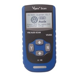 Wholesale VS VAG CAN OBDII SCAN TOOL Turn Off MILs Of Engine Airbag ABS A T And Most Other Systems