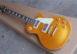 Electric Guitar with Yellow Body,White Pickguard and 2 Pickups and Can be Customized as Request