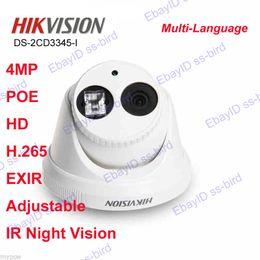 Wholesale HIKVISION DS CD3345 I hd MP POE H EXIR IR Adjustable Dome Turret IP Camera
