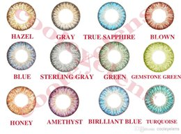 Wholesale send case Tones colors fresh colorblend offers contact lens pairs case Contact lenses color contact lens crazy lens
