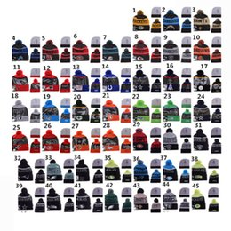 Wholesale Retail Cheap Beanie beanies caps beanies with strips Sale Winter Knitted Hat For Men Women Caps Casual Skullies More Styles