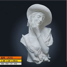 Wholesale American style retro furniture works of art Venus sculpture statue garden living room TV cabinet Decoration