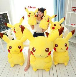 Wholesale hot Sell Poke Pikachu cm cmPlush Toys Classic dolls for boy Birthday gifts christmas gifts HHA1044