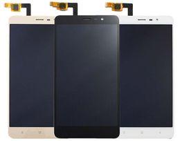 Pièces fr en Ligne-Millet de riz rouge de haute qualité note 3 Écran LCD LCD + pavé tactile pièces de rechange d'origine Hongmi Note 3 ky05 noir, blanc K or, direct direct
