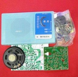 Wholesale DIY Kits Superheterodyne Radio Receiver Transistor sch case
