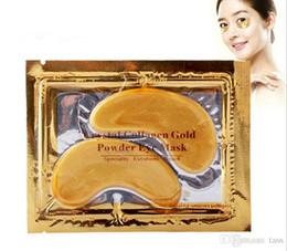 Factory Price!! 20000pcs Collagen Crystal Eye Masks Anti-puffiness moisturizing Eye masks Anti-aging masks collagen gold powder eye mask