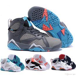 Wholesale Retro VII Shoes LOLA BUNNY Sports Shoes Cheap Athletics Marvin The Martian Basketball Shoes Cheap Barcelona Nights Sports Shoes36